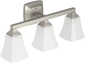 Moen Voss™ 3-Globe Light Fixture in Brushed Nickel MYB5163BN