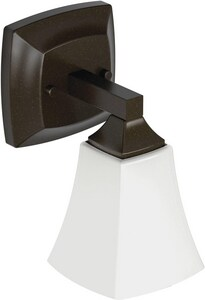 Moen Voss™ 100W Wall Sconce Bath Light Fixture in Oil Rubbed Bronze MYB5161ORB