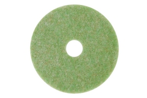 5000 Series 17 in. Autoscrubber Pad in Green and Amber (Case of 5) 3M04801118049