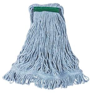 Rubbermaid Swinger Loop® Heavy Duty Medium Shrinkless Wet Mop in Blue RFGC21206BL00