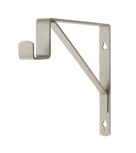 Closetmaid Suite Symphony™ 1 in. Center Rod Support in Satin Nickel C890800