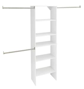 Closetmaid Suite Symphony™ 25 in. Starter Tower in Pure White C486900