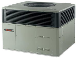 Trane 4WCX3 Series 3.5 Ton 13 SEER Convertible R-410A Packaged Heat Pump T4WCX3042B1000A