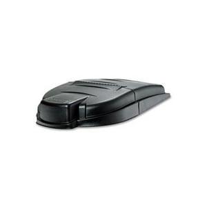 Rubbermaid Brute® Waste Collar Lid in Black RFG9W7200BLA
