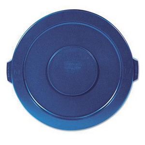 Rubbermaid Brute® 32 gal Container Lid in Blue RFG263100BLUE
