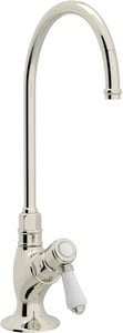 ROHL® Perrin & Rowe® Country Kitchen Kitchen Column Spout Filter Faucet with Single Lever Handle and 4-11/16 in. Spout Reach in Polished Nickel RA1635LPPN2