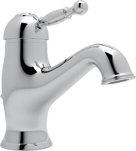 ROHL® Cisal 1-Hole Deckmount Lavatory Faucet with Single-Handle in Polished Chrome RAY51APC2