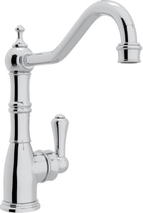 ROHL® Perrin & Rowe® 1.8 gpm 1-Hole Single Lever Handle Kitchen Faucet in Polished Chrome RU4741APC2