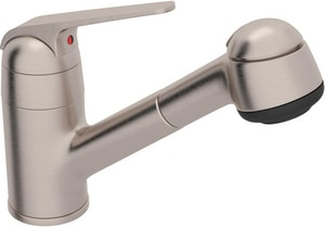 ROHL® De™ Lux 1.8 gpm Single Lever Handle Kit Faucet in Satin Nickel RR3810SSTN
