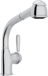ROHL® Country Side Pull-Out Bar or Food Prep Faucet with Single Lever Handle in Polished Chrome RR7903SLMAPC