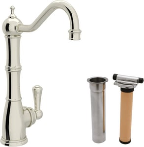 ROHL® Perrin & Rowe® Single Lever Handle Cold Filter Faucet in Polished Nickel RUKIT1621L2