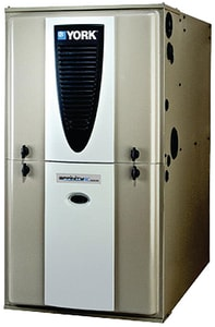 York International Affinity™ 21 in. 100000 BTU 97.7% AFUE 4 Ton Two-Stage Multi-Position 3/4 hp Natural Gas Furnace YP9C100C16MP12C