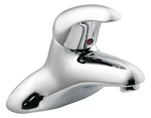 Moen M-Dura™ Single Handle Centerset Bathroom Sink Faucet in Polished Chrome M8413F05