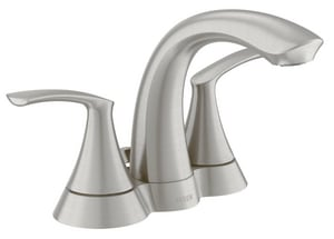 Moen Darcy™ 1.2 gpm Double Lever Handle Lavatory Faucet M84550