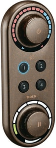 Moen ioDigital® 2.5 gpm Double Handle Thermostatic Valve Trim with Digital Control in Oil Rubbed Bronze MTS3415ORB