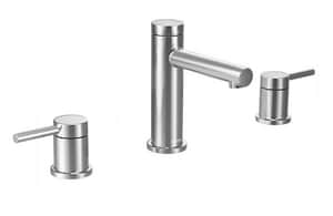 Moen Align™ Two Handle Widespread Bathroom Sink Faucet in Polished Chrome MT6193