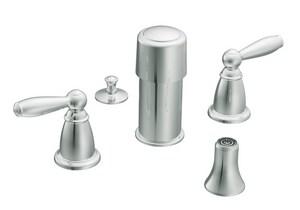 Moen Brantford™ 2-Hole Bidet Faucet Trim Kit in Polished Chrome MT5225