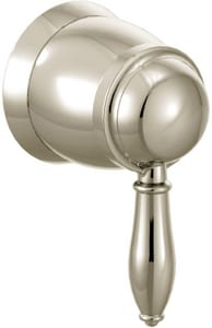 Moen Weymouth® 1-Function Flow Valve Trim Only with Single Lever Handle in Lifeshine in Nickel MTS52104NL