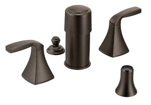 Moen Voss™ Bidet Faucet with Double Lever Handle in Oil Rubbed Bronze MT5269ORB