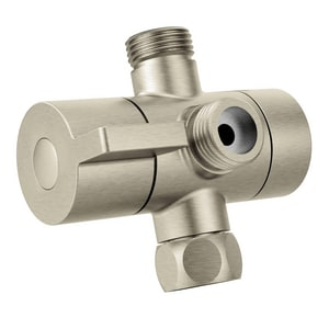 Moen Shower Arm Diverter in Brushed Nickel MCL703