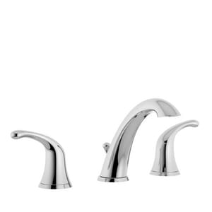 Symmons Industries Unity® Two Handle Widespread Bathroom Sink Faucet in Polished Chrome SYMSLW661215