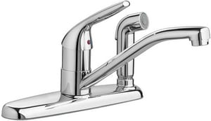 American Standard Colony® Choice Single Handle Kitchen Faucet in Polished Chrome A4175703F15002