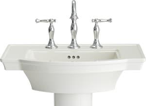 American Standard Estate® Pedestal Bathroom Sink in White A0900004020