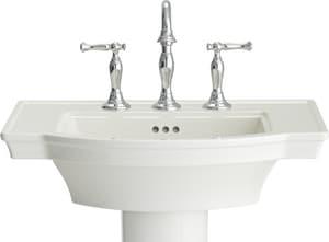 American Standard Estate Pedestal Bathroom Sink In White 0900008 020 Ferguson