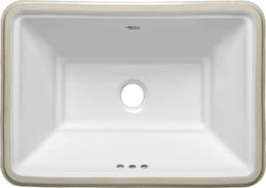American Standard Estate Undermount Bathroom Sink In White