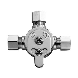 Sloan Valve Optima® 3/8 in. Compression MIX60A Mechanical Mixing Valve S3326009