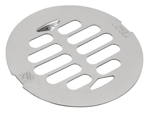 AB & A™ Stainless Steel Plated Snap Inlet Type Grate Polished Chrome I69522