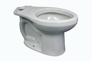 American Standard H2Optimum™ 1.1 gpf Elongated Toilet Bowl in White A3706216020