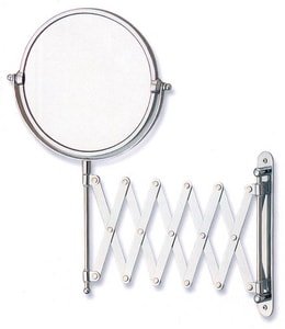 Gatco Expandable Wall Mount Mirror in Polished Chrome G1439C