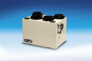 Fantech 17-1/4 in. 140 cfm 1.3 A Heat Recovery Ventilator FVHR1404