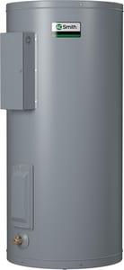 A.O. Smith Dura-Power™ 15 gal 3kW 120V 1-Phase Lowboy Simultaneously Wired Steel and Glass Electric Commercial Water Heater ADEL1510D011000