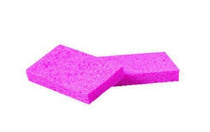 Small Cellulose Sponge in Pink PADCS1A