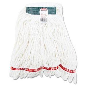 Rubbermaid Web Foot® 4-Ply Medium Wet Mop in White RFGA21206WH00