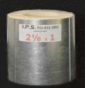 Insulated Pipe Shields 1 x 5/8 in. OD Wall Calcium Silicate Insulation ICSIS581