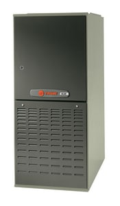 Trane TDD2 XL80 17-1/2 in. 60000 BTU 80% AFUE 3 Ton Two-Stage Downflow and Horizontal Right 1/3 hp Natural or Propane Furnace TTDD2B060A9362A