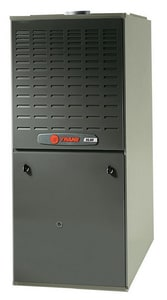 Trane TUD2 XL80 14-1/2 in. 60000 BTU 80% AFUE 3 Ton Two-Stage Upflow and Horizontal Left 1/3 hp Natural or LP Gas Furnace TTUD2A060A9362A