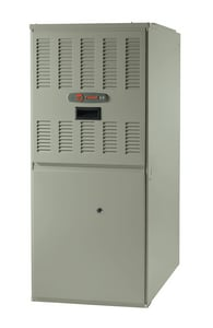 Trane TUE1 XB80 17-1/2 in. 60000 BTU 80% AFUE 3 Ton Single-Stage Upflow and Horizontal Left 1/3 hp Natural or Propane Furnace TTUE1B060A9361A