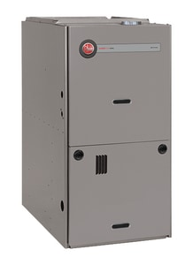 Rheem Classic Plus™ 24-1/2 in. 125000 BTU 80% AFUE 3.5 - 5 Ton Two-Stage Upflow and Horizontal 3/4 hp Natural or Propane Furnace R802PA125524MSA