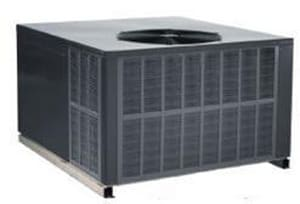 Amana HVAC APG15 Series 2 Tons 14.5 SEER R-410A Single-Stage Evaporator Downflow and Horizontal Natural Gas/Electric Packaged Unit AAPG152407041