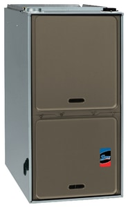 Rheem Sure Comfort® 17-1/2 in. 75000 BTU 80% AFUE 3 Ton Single-Stage Upflow and Horizontal 1/2 hp Natural or Propane Furnace RGF801U075AS36