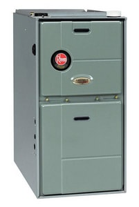 Rheem Prestige™ 17-1/2 in. 60000 BTU 93.4% AFUE 5 Ton Two-Stage Upflow 1/2 hp Natural or Propane Furnace RGFE06EMCKS