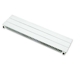 Runtal North America Contractor Series 4290 BTU Complete Baseboard Unit in White 18 in. x 3 ft. Steel RUF636