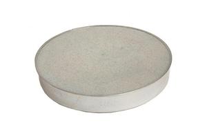Gray Metal South 4 in. 26 ga Galvanized Round No-Crimp Duct Cap GRA4310