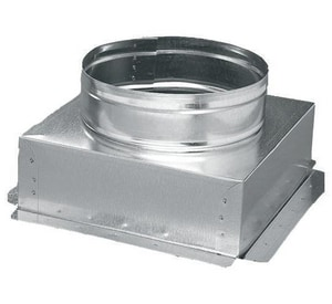 12 x 12 x 7 in. Duct Square-To-Round SHMCB261212WPG