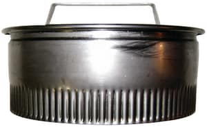 Royal Metal Products 273 8 in. Carbon Steel Duct Cap R2738H