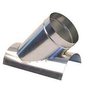 6 in. Galvanized Steel Saddle in Round Duct SHMST428U